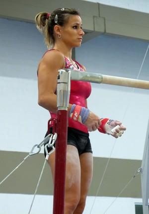 Treino Seleção Brasileira de Ginástica Artística Feminina - Jade Barbosa (Foto: Gabriel Frickie)