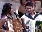 Lucy Alves e Luan Estilizado cantam no Encontro com Fátima Bernardes