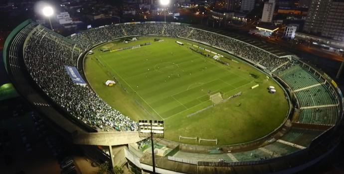Estádio Brinco de Ouro, em Campinas (Foto: Reprodução / WS Imagens Aéreas)