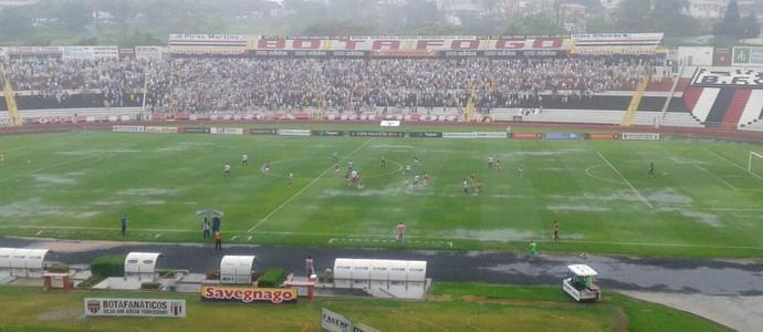 Botafogo-SP x Santo André, Copa Paulista (Foto: Rodolfo Tiengo)