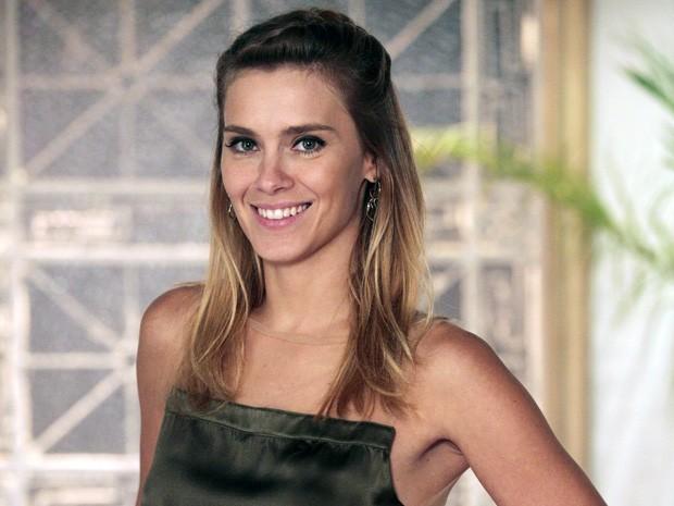 Carol Dieckmann faz um balanço de sua Jéssica (Foto: Salve Jorge/TV Globo)