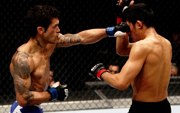 UFC Vaughan Lee e Nam Phan (Foto: Agência Getty Images)