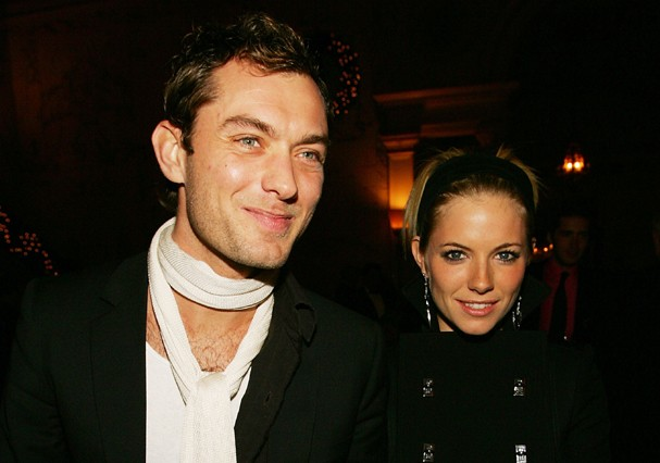 Jude Law e Sienna Miller (Foto: Getty Images)
