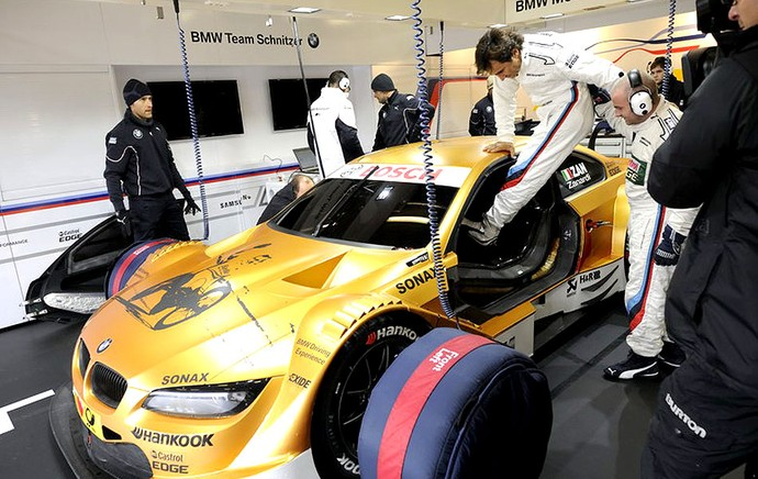 Alex Zanardi pilotando carro DTM (Foto: Divulgação / DTM)