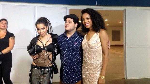 Anitta, Marcus Majella e Negra Li (Foto: Multishow)