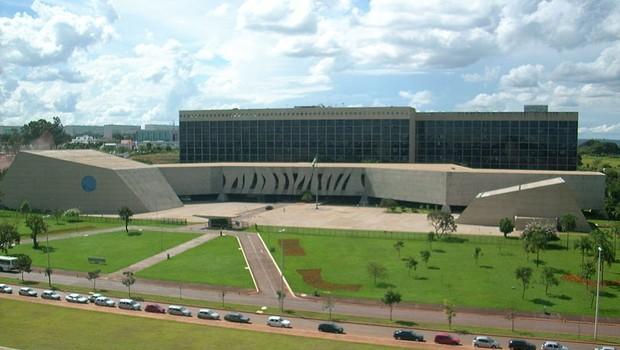 Superior Tribunal de Justiça (STJ), em Brasília (Foto: Luis Dantas/Wikipedia)