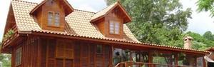 Casa de madeira: conheça o projeto e suas vantagens (Divulgação)