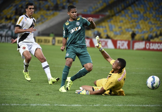 Gol Evandro Vasco x Coritiba Maracanã (Foto: André Durão)