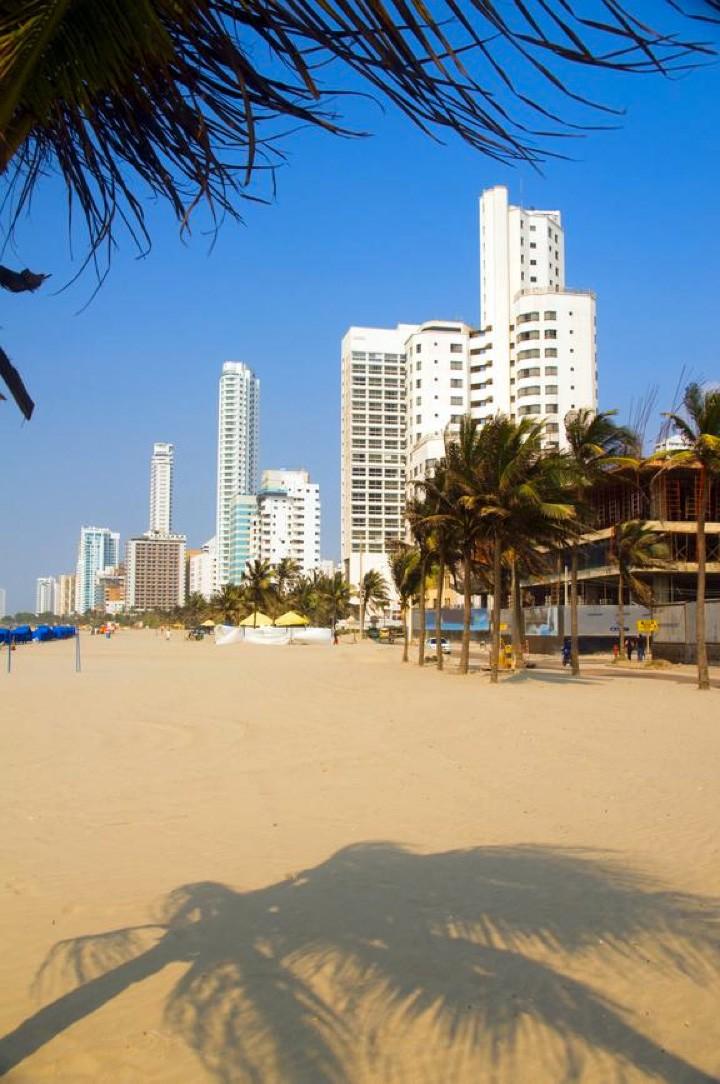 Bocagrande - Cartagena (Foto: Divulgao)
