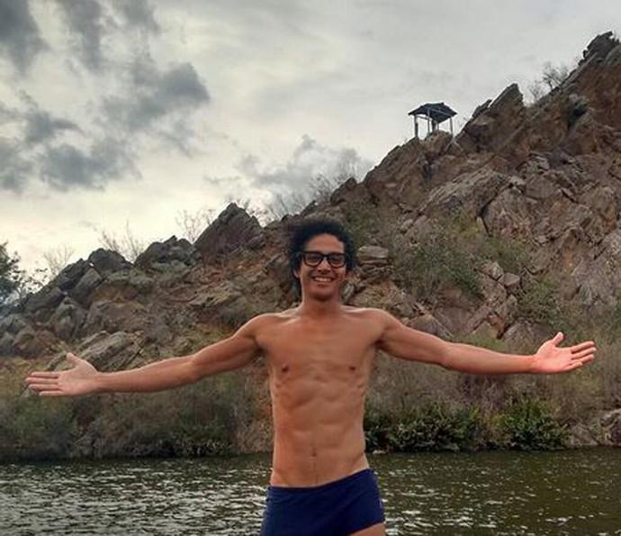 Diyo Coêlho revela que não gosta de academia, mas que se mantém sempre ativo (Foto: Bruna Luz)