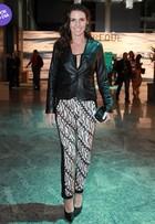 Look do dia: Glenda Kozlowski aposta no brilho para ir ao Fashion Rio