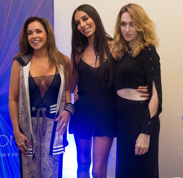Daniela Mercury, Lea T e Jamie Clancy (Foto: Bruno Melero / AgNews)