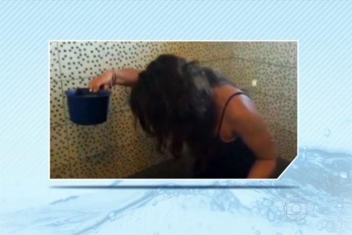 Paulistana que mora há um mês nas Filipinas dá dica de economia de água no banho