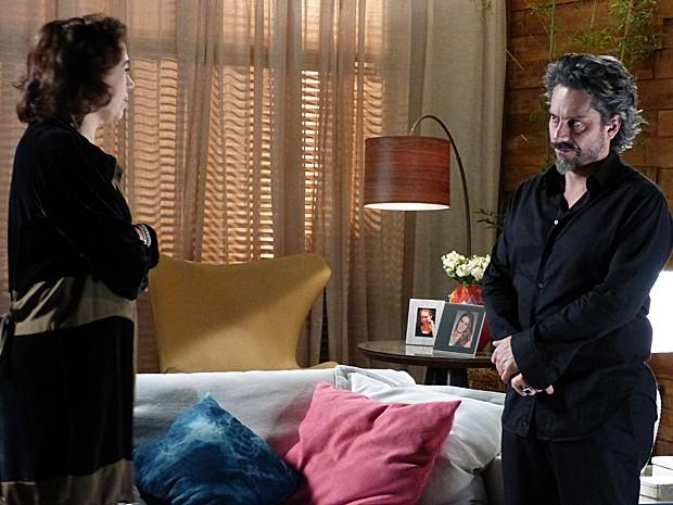Será que Marta vai aceitar decisão de Zé Pedro? (Foto: TV Globo)