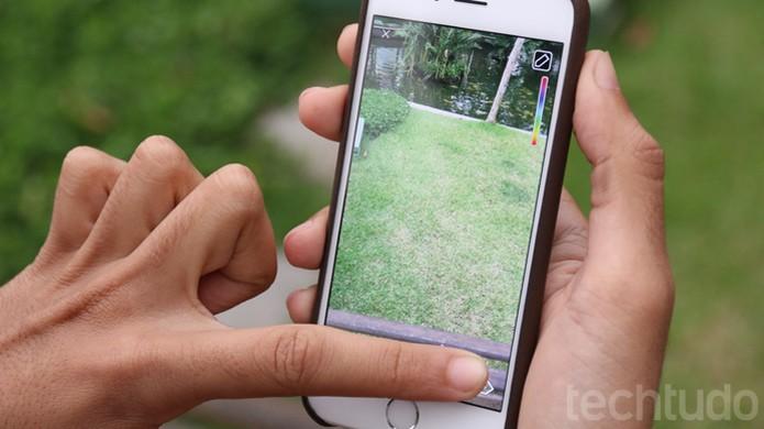 Cores escondidas para escrever no Snapchat (Foto: TechTudo / Lucas Mendes)