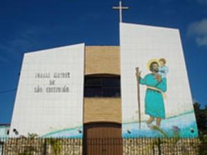 igreja de são cristóvão, salvador; bahia (Foto: Arquidiocese/Divulgação)