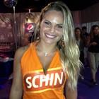 'Estou só curtindo', diz ex-BBB Natalia (Tanise Scherer/G1)