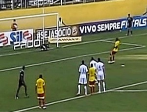 Bragantino x Atlético Sorocaba (Foto: Reprodução/ TV Vanguarda)