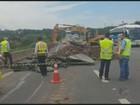 Rodovia Anhanguera é interditada após afundamento de pista no km 75