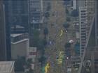 Protestos de domingo (13) foram o maior ato político da história do Brasil