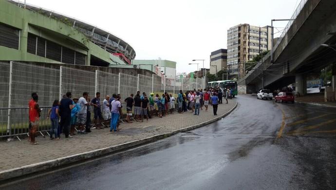 fila; bahia ingressos; bahia; fonte nova (Foto: Jayme Brandão/ Divulgação/ EC Bahia)
