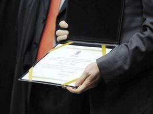 Diplomação encerra processo eleitoral  (Foto: TRE-SC/Divulgação)
