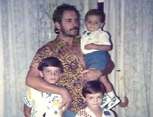 Falcão família Esporte Espetacular (Foto: Arquivo pessoal)