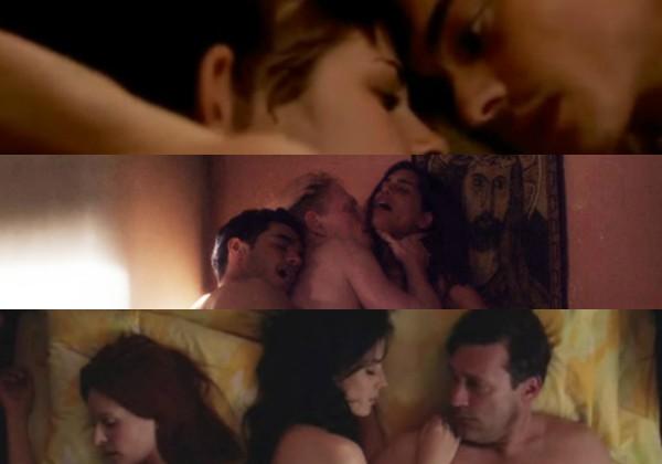 As cenas de sexo a três mais escandalosas da história do cinema (Foto: Reprodução)
