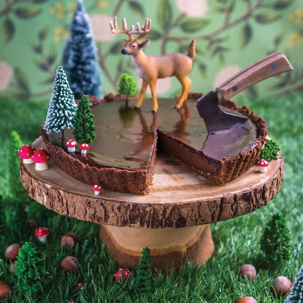 Torta de Chocolate e Avelãs (Foto: Divulgação)
