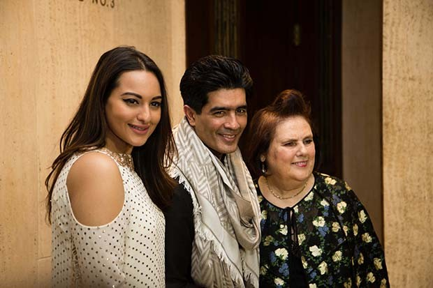 Manish Malhotra the hot Bollywood designer with Suzy and actress Sonakshi Sinha   (Foto:  Rohan Hande )