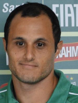 Bruno Meneghel na reapresentação do América-MG (Foto: Tarcisio Badaró/Globoesporte.com)