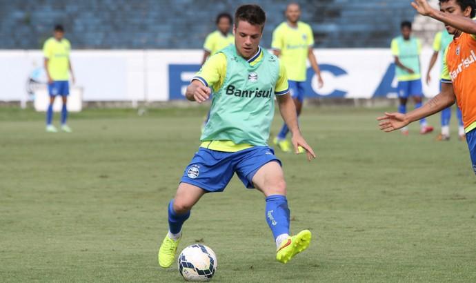 Ramiro Grêmio treino (Foto: Eduardo Deconto/GloboEsporte.com)