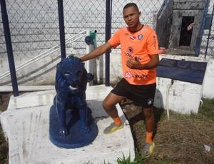 Dida é candidato a camisa 1 do Remo (Foto: Gustavo Pêna/GLOBOESPORTE.COM)