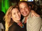 Andréia Sorvetão comemora seus 40 anos com famosos no Rio