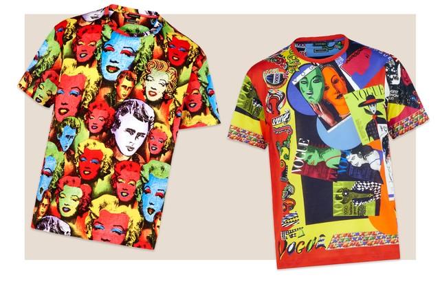 Edição Limitada de Camisetas Versace Tribute Collection (Foto: Divulgação)