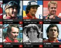"""Com título, Hamilton se junta a Senna, Piquet e cia. em seleto """"Clube dos Tri"""""""