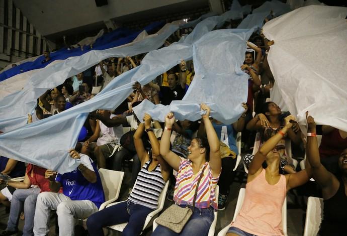 Torcida do Rio de Janeiro promete lotar o Tijuca na próxima quinta-feira (Foto: Marcelo Régua/MPIX)
