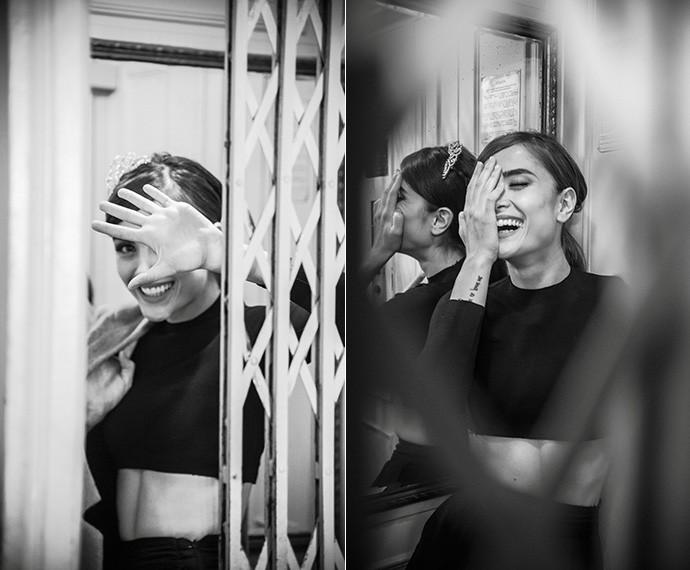 Simples, despojada de vaidades e sensível, Maria sorri para a vida e se encanta com as poesias do cotidiano  (Foto: Raphael Dias/Gshow)