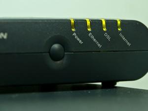 Modem ADSL (Foto: Altieres Rohr/Especial para o G1)