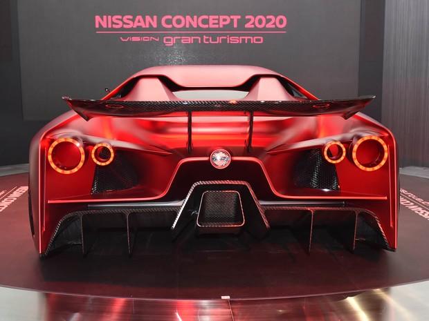 Nissan Concept 2020 Vision Gran Turismo (Foto: AFP PHOTO / KAZUHIRO NOGI)