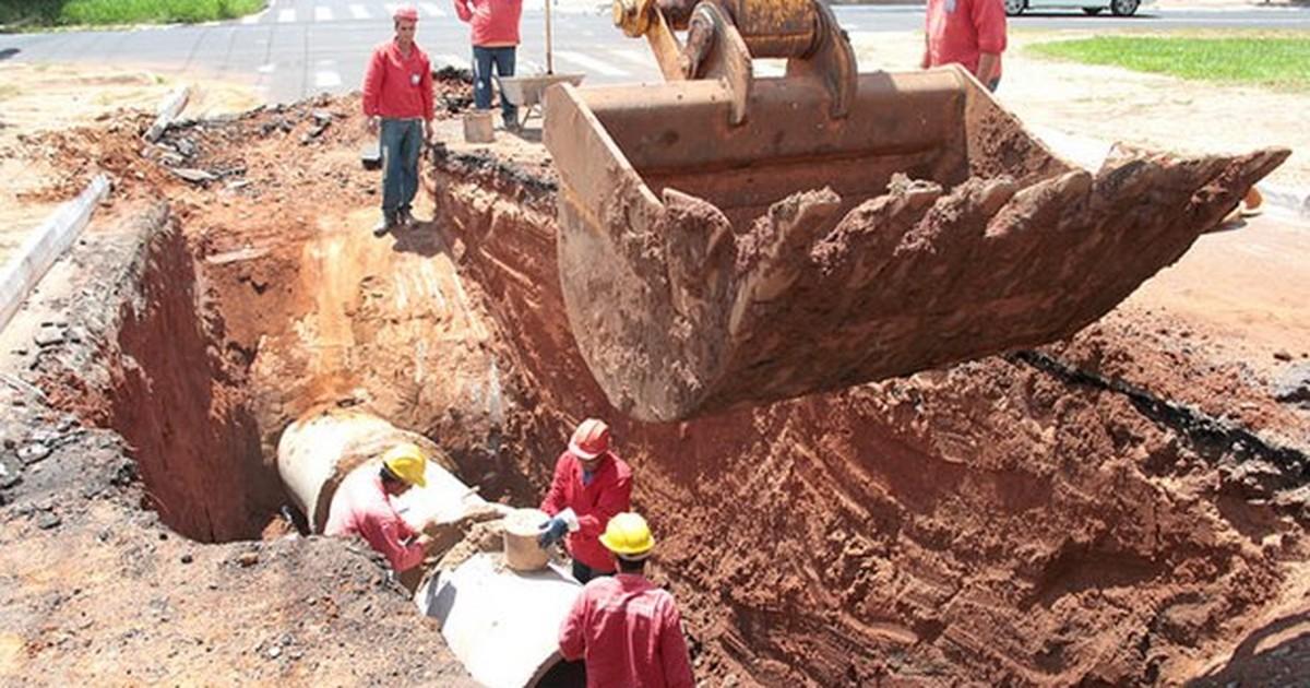 Obras antienchentes interditam Avenida Arthur Nonato em Rio Preto - Globo.com