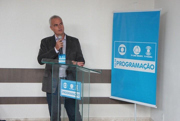 Amadeu Lima é gerente de programação e operações das TVs Cabo Branco e Paraíba (Foto: Daniel Sousa/TV Cabo Branco)