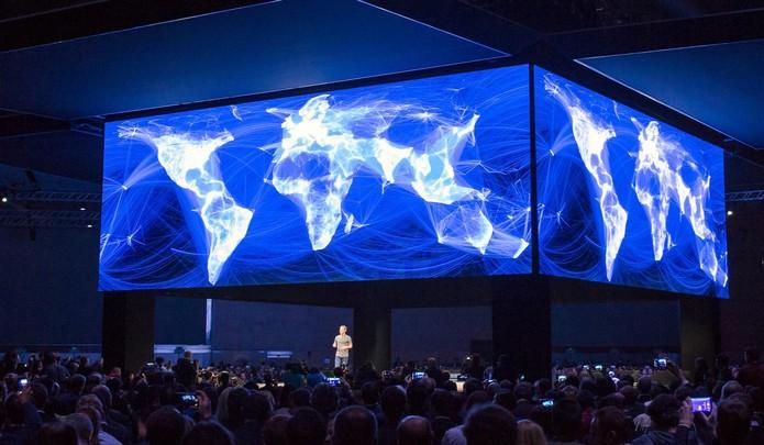 'Reactions -- the new Like button', é o que diz Mark Zuckerberg  (Foto: Divulgação/Facebook)
