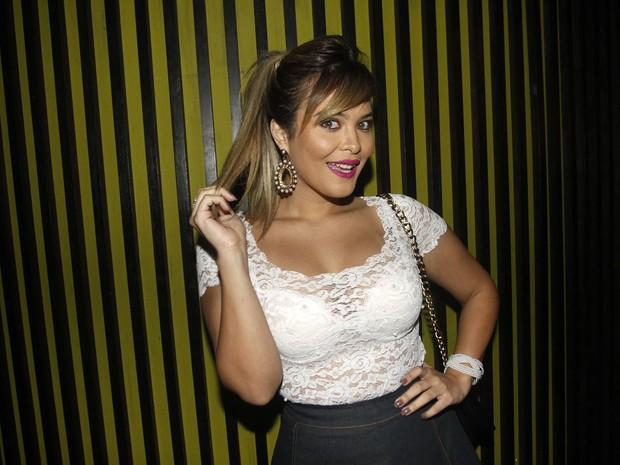 Geisy Arruda em festa em São Paulo (Foto: Celso Tavares/ EGO)