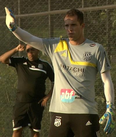 Marcelo Lomba, Ponte Preta (Foto: Carlos Velardi/ EPTV)