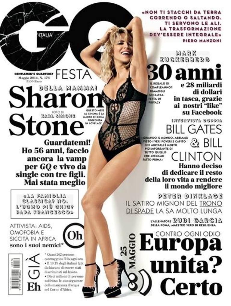 """Doze anos após a cruzada de pernas em """"Instinto Selvagem"""", Sharon Stone continua exuberante (Foto: Reprodução)"""