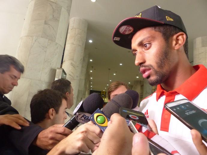 César Martins Flamengo (Foto: Igor Rodrigues)