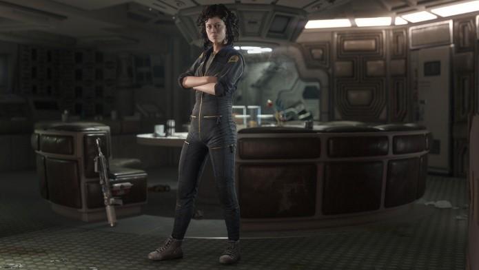 Alien: Isolation terá DLC com Ellen Ripley, personagem interpretada pela atriz Sigourney Weaver. (Foto: Divulgação)