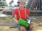 Contação de histórias aos pés da Samaúma incentiva a leitura no AP