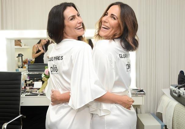 Cleo e Gloria Pires posam juntas em campanha de lingerie (Foto: Divulgação)